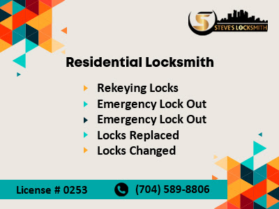 Locksmith Steve | Local Commercial & Residential Charlotte Locksmith